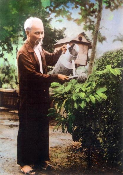 ảnh lịch sử của chủ tịch hồ chí minh