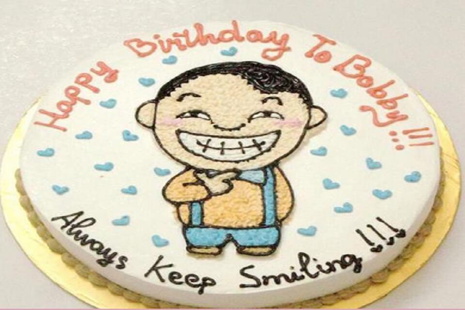 bánh kem sinh nhật hài hước