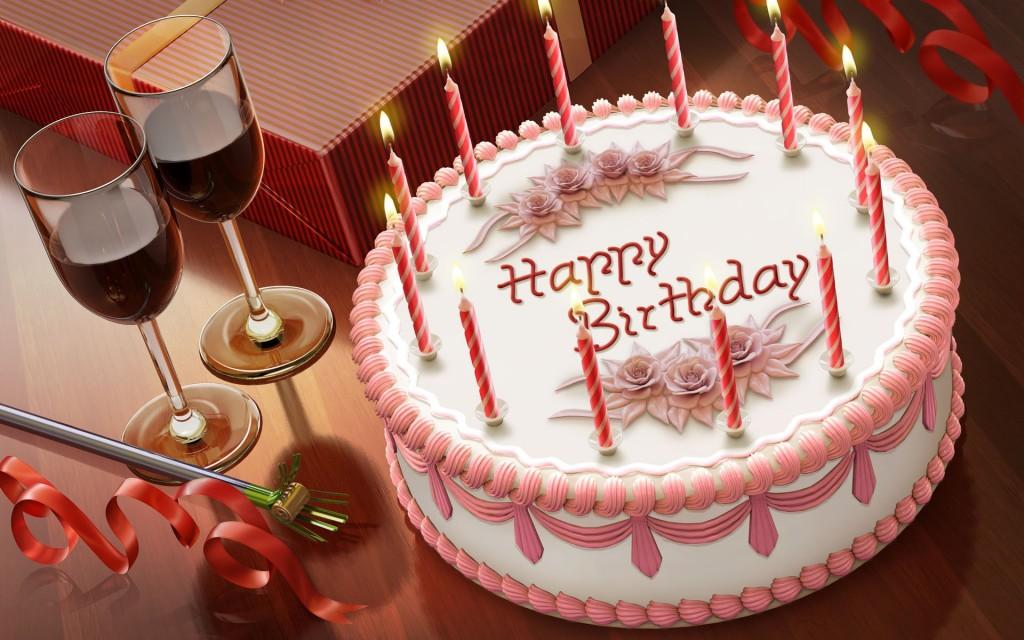 hình ảnh bánh sinh nhật ấn tượng