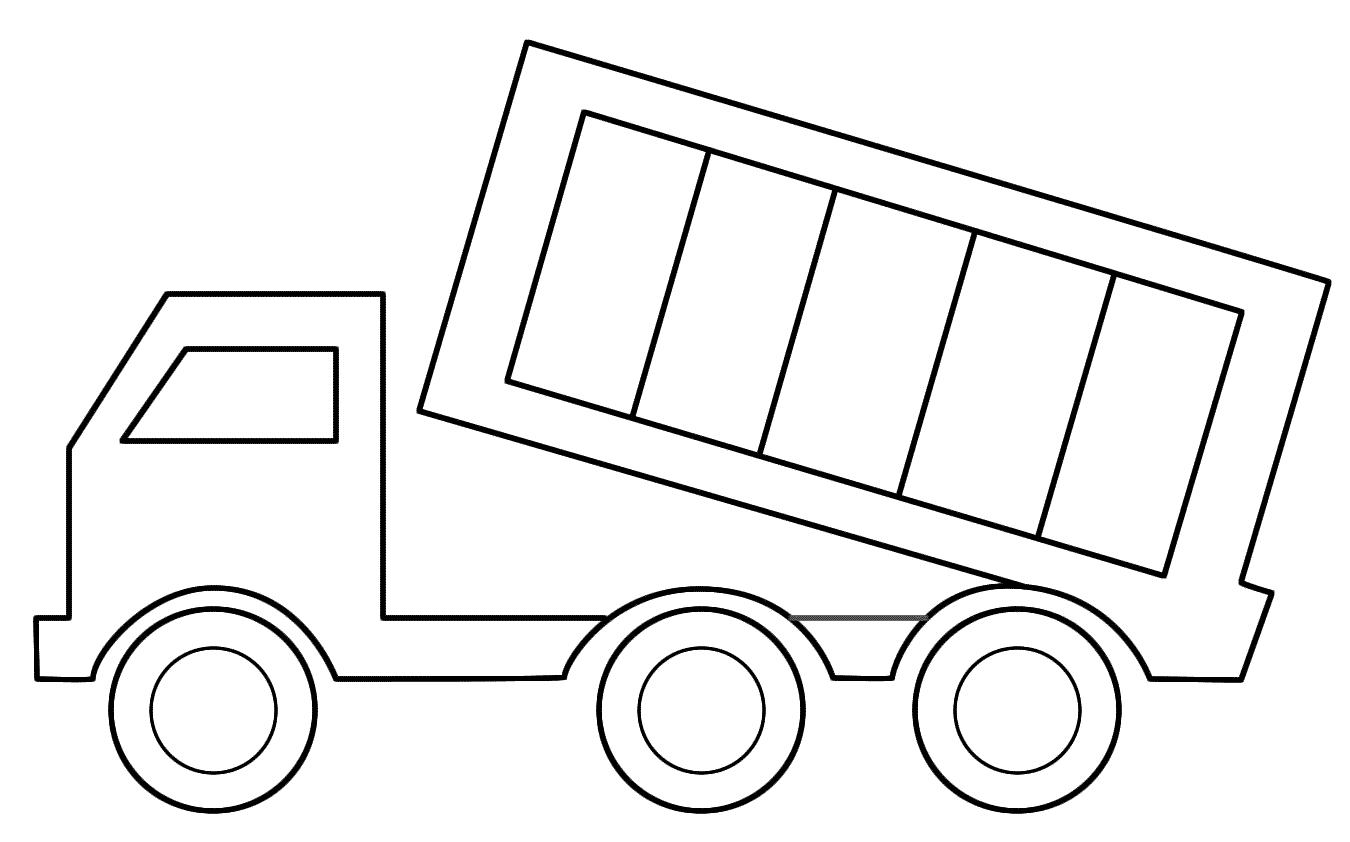 tô màu xe tải