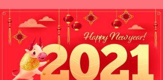 hình ảnh chúc mừng năm mới 2021 đẹp nhất