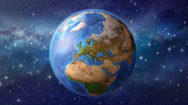 Hình ảnh trái đất đẹp nhìn từ không gian