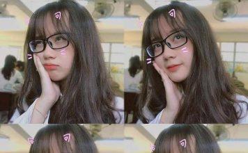 Tổng hợp hình girl xinh đeo kính dễ thương say đắm