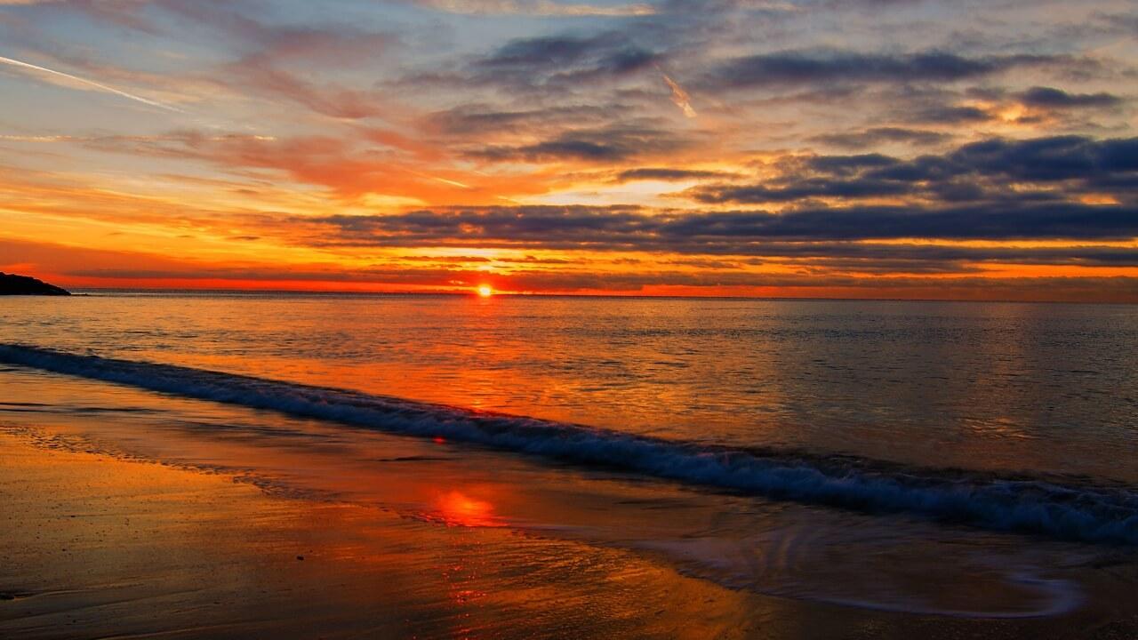 Hình nền bãi biển đẹp lãng mạn cho những bạn đam mê du lịch